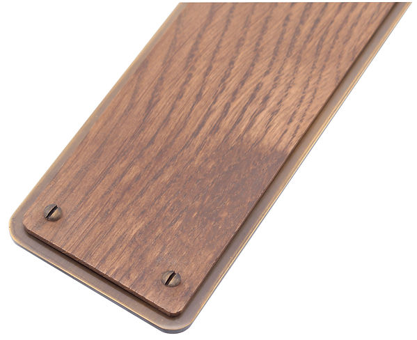 FingerPlate dark oak