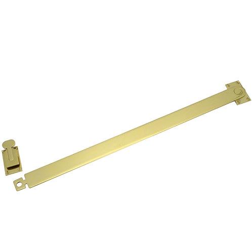 Brass shutter bar - 65005