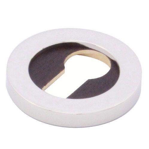 Escutcheon for euro profile cylinder