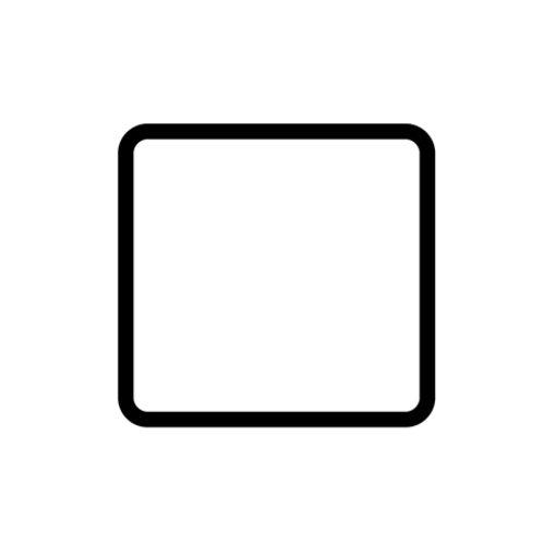 Single blank plate - 89301