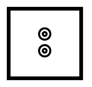 1 Gang speaker socket - 89431