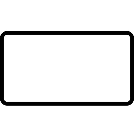 Twin blank plate - 89302