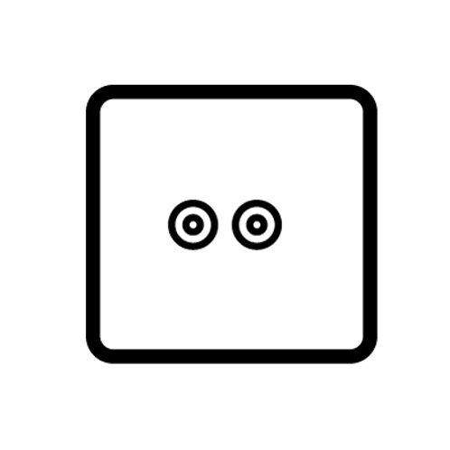 TV / Satellite socket outlet - 86322