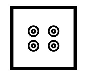 2 Gang speaker socket - 89232