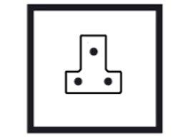 1 Gang 5 AMP Socket outlet - 84251