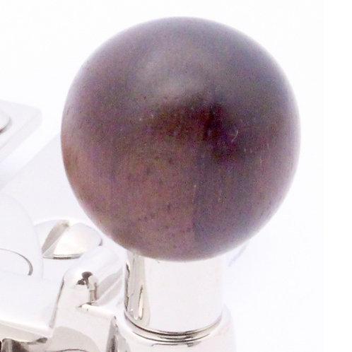 Quadrant arm type sash fastener ball