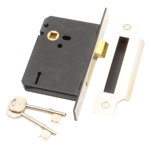 Upright mortice lock, 3 lever