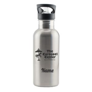 The Carousel Center Stainless Steel Water Bottle