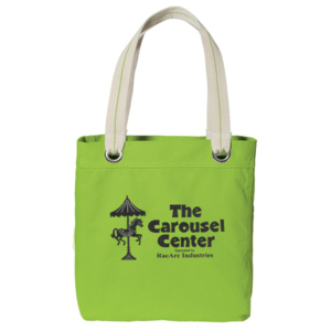 The Carousel Center Tote