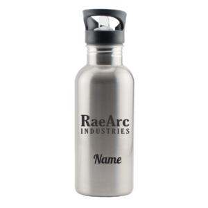 RaeArc Industries Stainless Steel Water Bottle