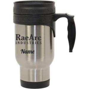 RaeArc Industries Stainless Steel Travel Mug