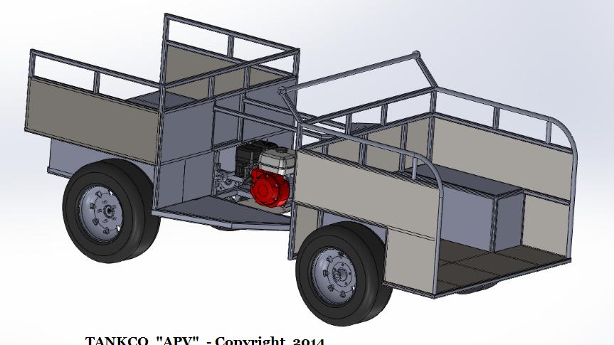 APV 4 Wheeler Blueprints