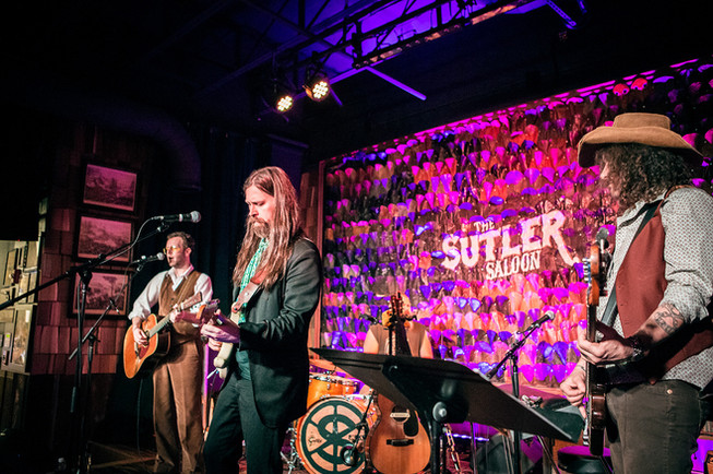 The Sutler Saloon Stage