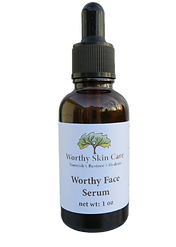 Worthy Face Serum is a concentrated face serum that is made in the USA.