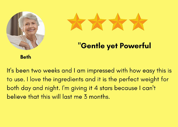 A woman named Beth gave Worthy Face Serum 5 stars, then wondered if it would truly last 3 months. She wanted the Worthy Face Serum, which is known as the Skin Fixer to undo the damage the sun has done to her skin. Already she is noticing fast differences in using her Worthy Face Serum.