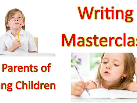 Launch of Writing Masterclass for Parents of Young Children