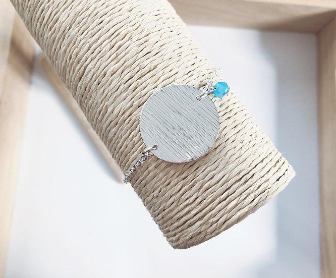 Bracelet Clara argenté - doré