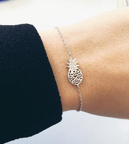 Bracelet ananas - argent 925/000