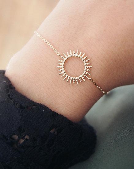 Bracelet Sun - Plaqué or