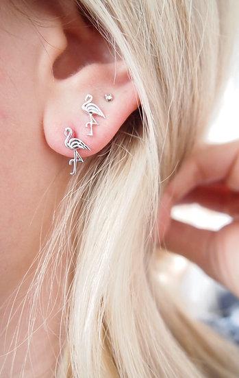 Boucles d'oreilles flamand - argent 925