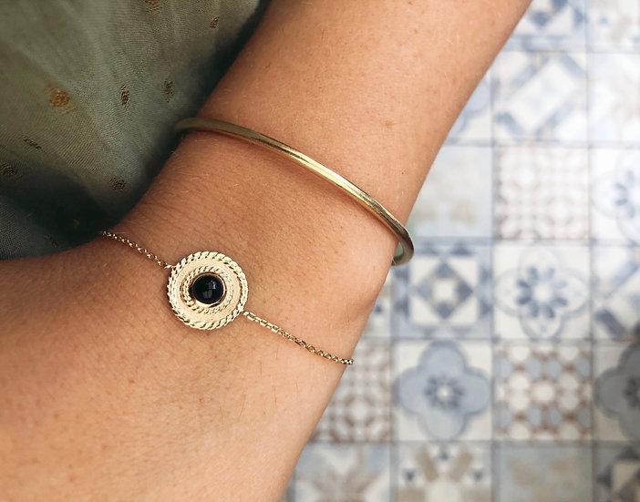 Bracelet Alma plaqué or
