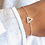 Thumbnail: Bracelet fin triangle Argent 925