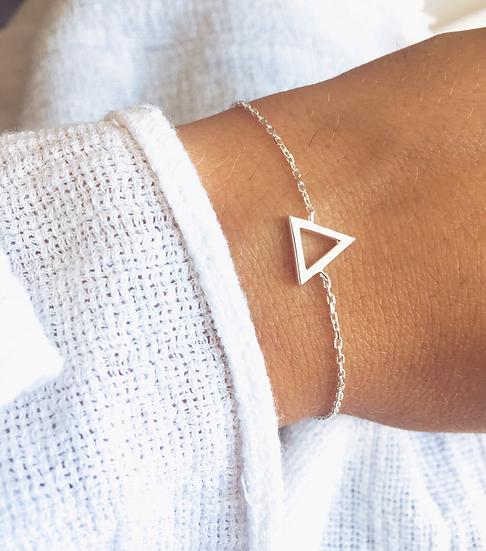 Bracelet fin triangle Argent 925