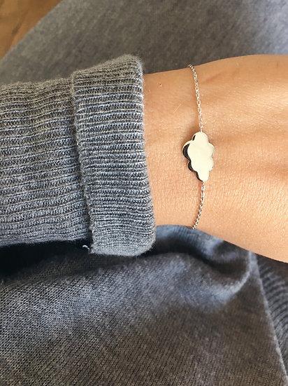 Bracelet nuage - argent 925