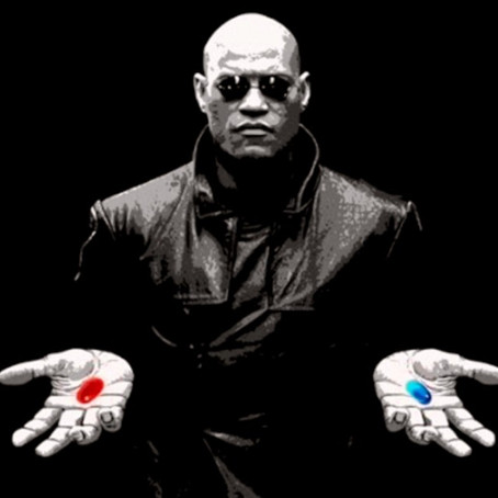 This Is The Matrix: Will You Take The Red Pill or Blue Pill?