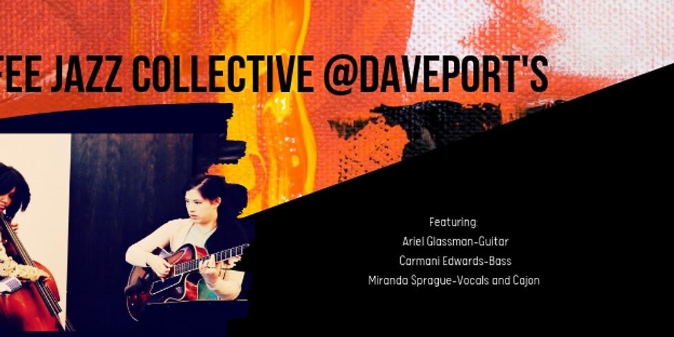 Coffee Jazz Presents: Nasty Tea Universe Trio @Davenport's