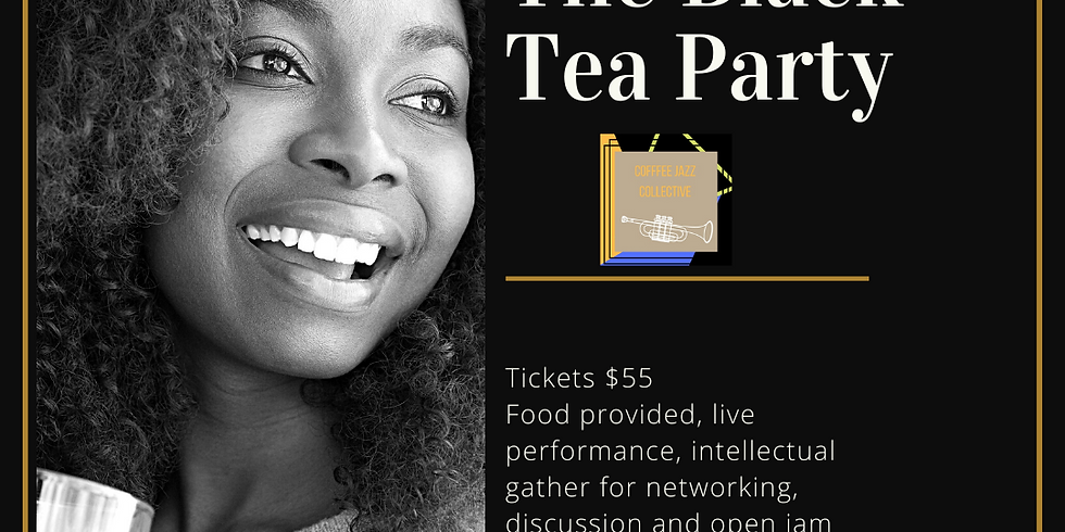 Black Tea Party Featuring Chef Aliea and Artist Mira Raven