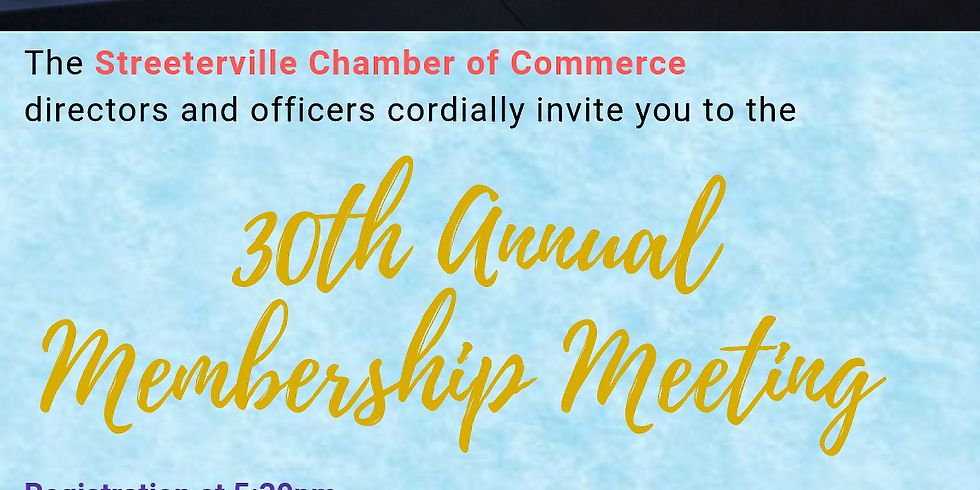Streetville Chamber of Commerce- Annual Meeting