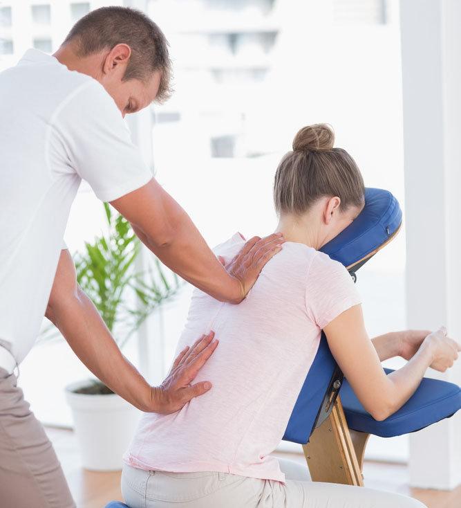 Chair Massage 15 minute