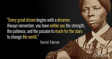 Harriet-Tubman-quote-great-dream-change-