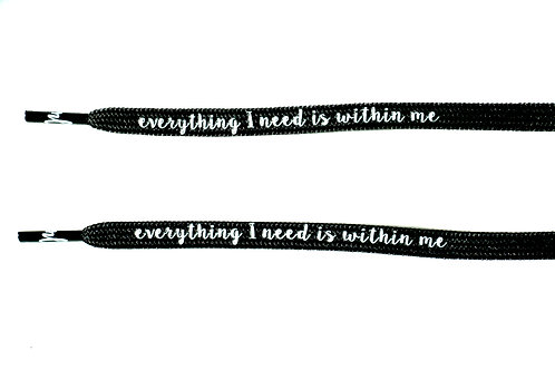 Everything I need is within me