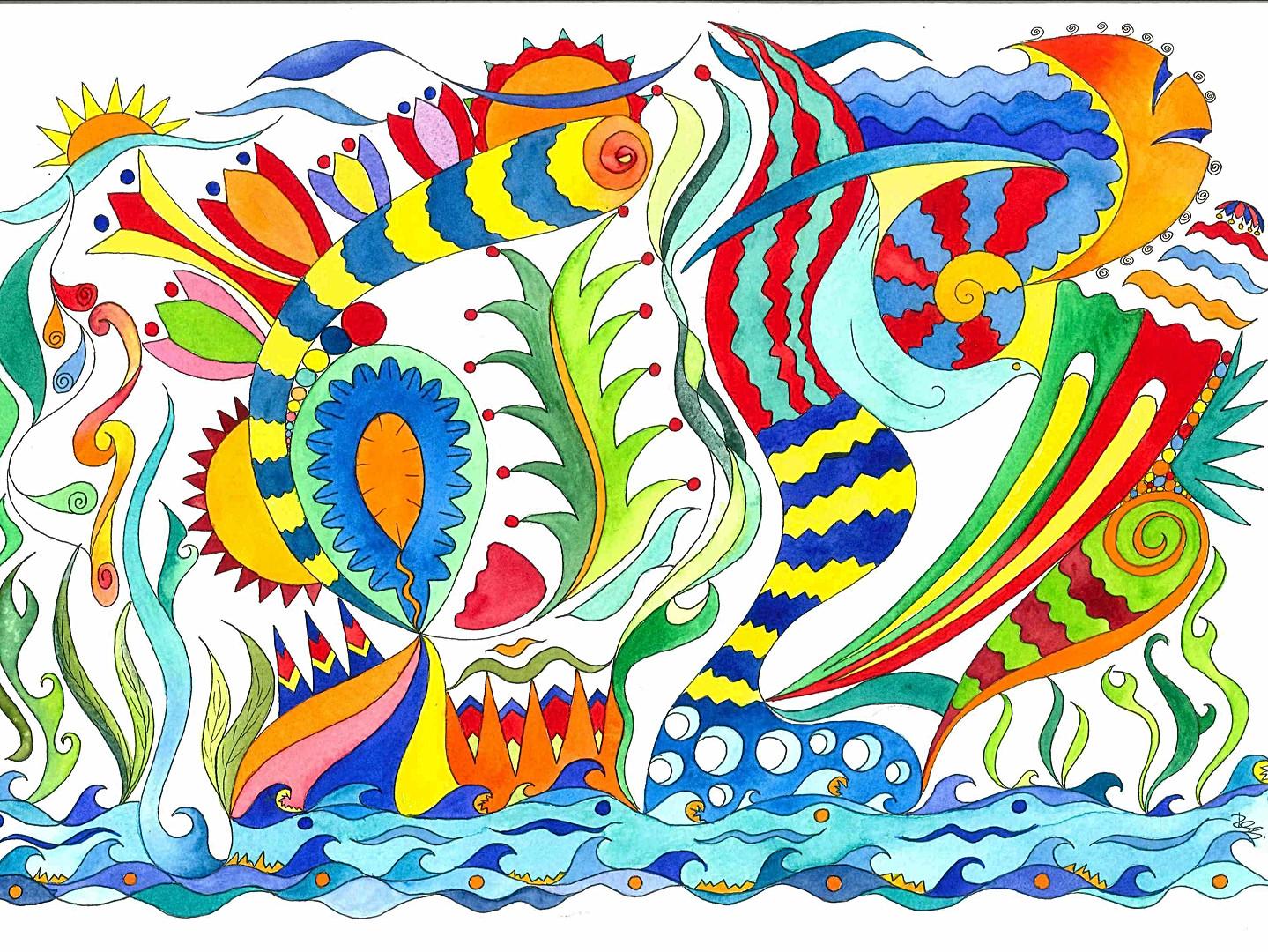 La mar més bella 32x46
