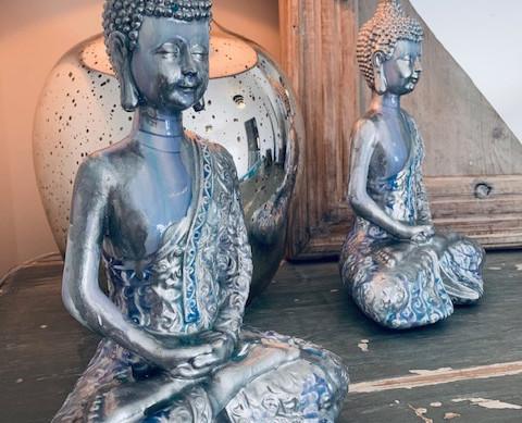 Northern Lights Inspired Buddah