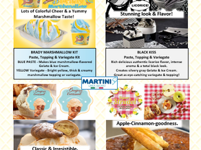 New Products for Gelato & Ice Cream