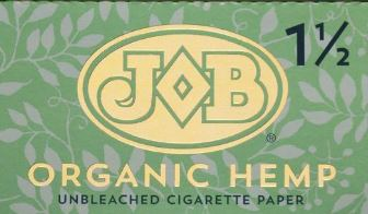 Job Organic Hemp Rolling Papers