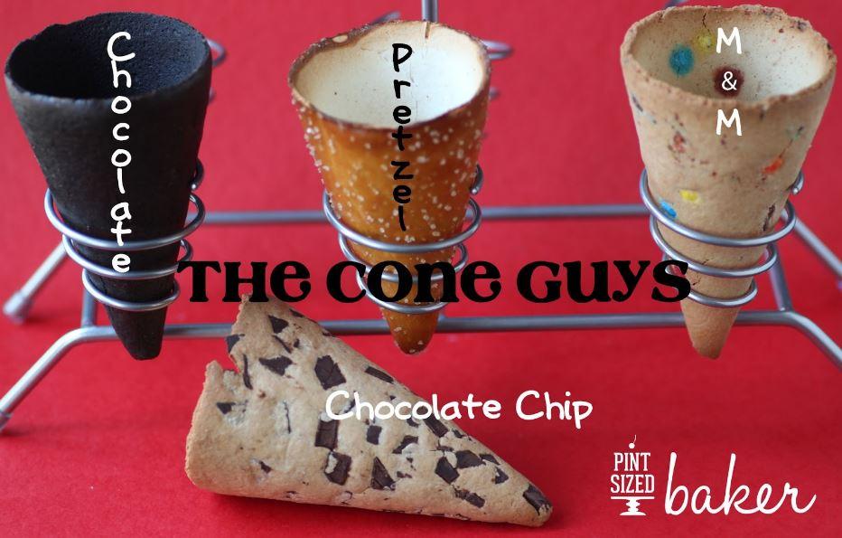 Cone Guys Cookie Cones