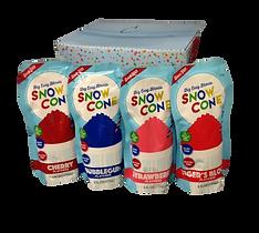 Snow Cone squeezable pouches