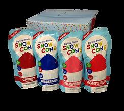 Snow Cone Slush pouches