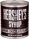 Hershey's Chocolate Syrup in a Number 10 can for Ice Cream Shops