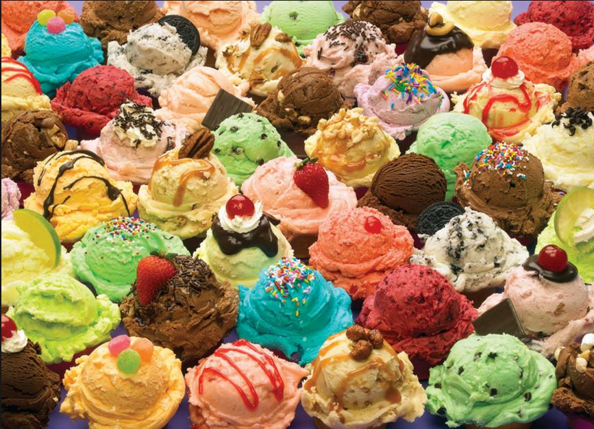 Ice Cream Topping Medley