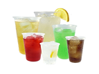 Cups, containers and lids for beverages