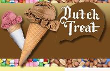 Dutch Treat Sugar Cones for soft or hard serve Ice Cream