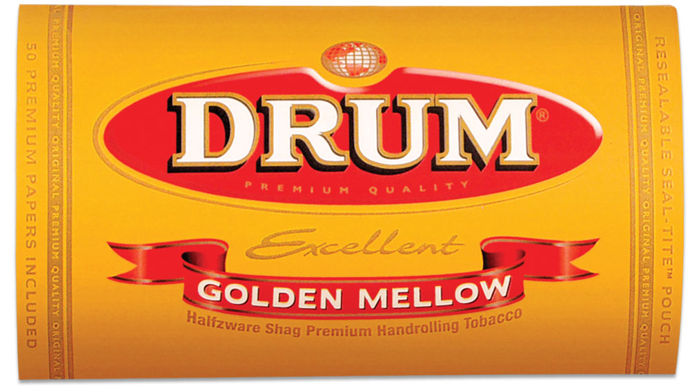 Drum Blue/ Golden Mellow Tobacco