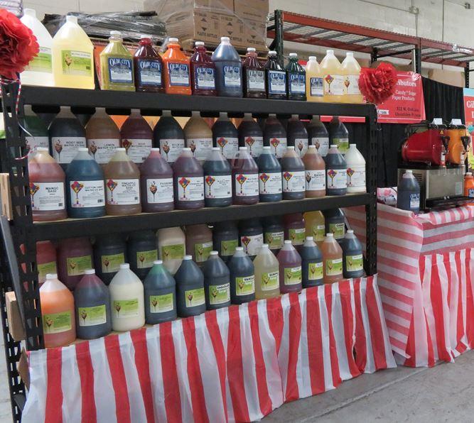 I. Rice Syrup Display