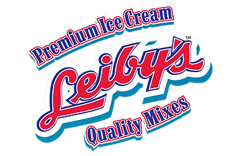 Leiby's ice cream mix logo