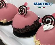 Master Martini gelato pastries